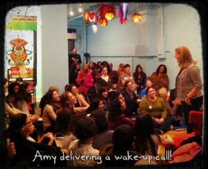 Amy Speaking at Namaste Books